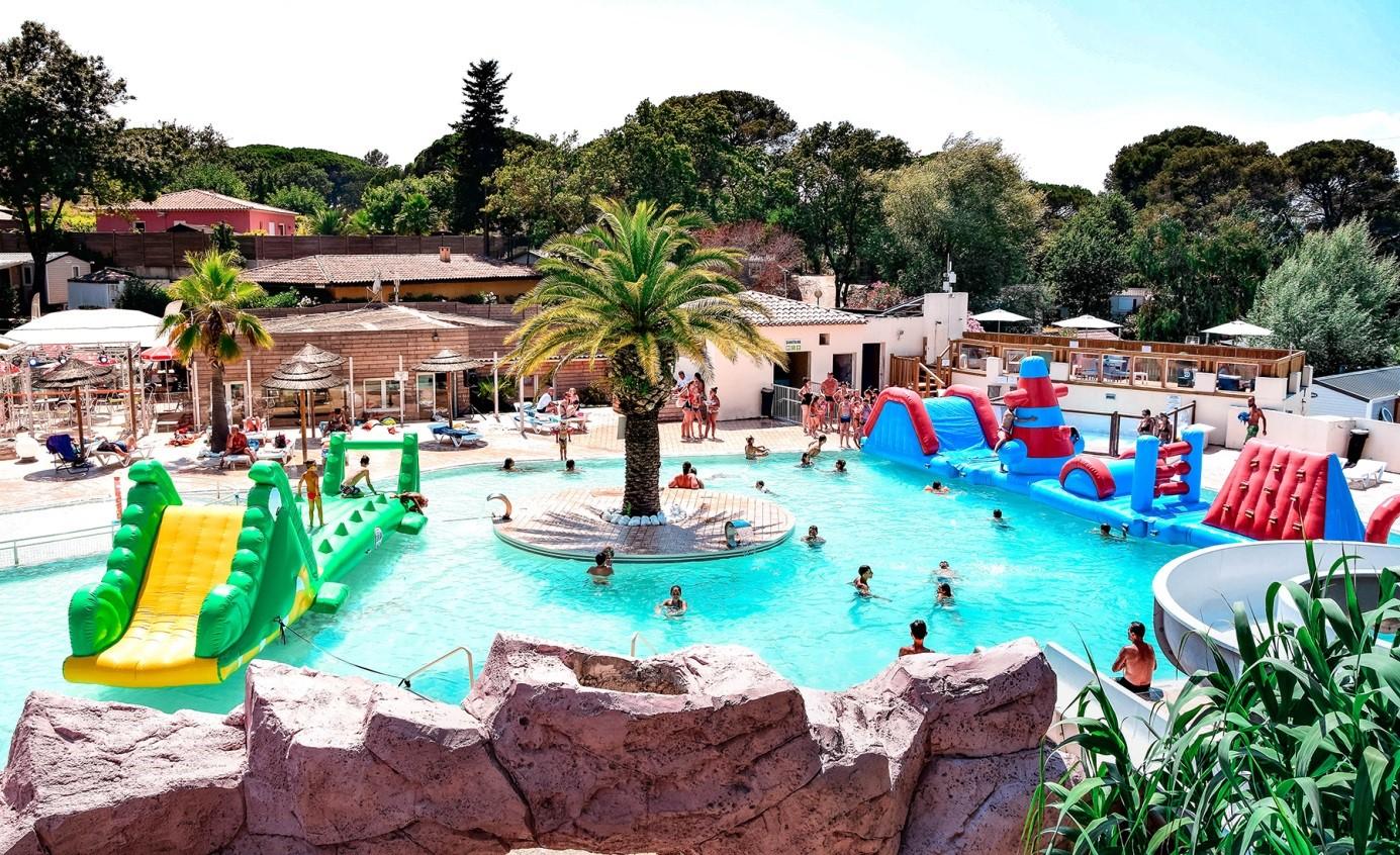 Site de Gorge-Vent : votre camping à Fréjus avec parc aquatique !